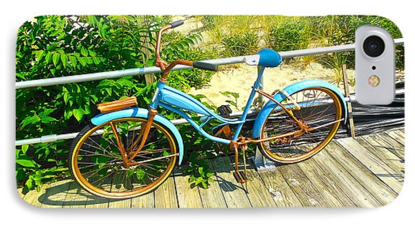 IPhone Case featuring the photograph Ocean Grove Bike by Joan Reese