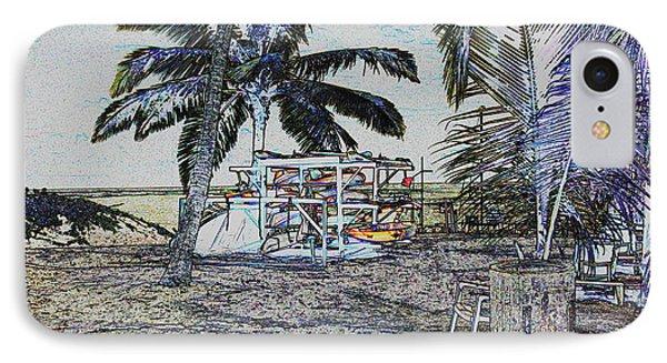 Ocean Kayacks IPhone Case by Mustafa Abdullah
