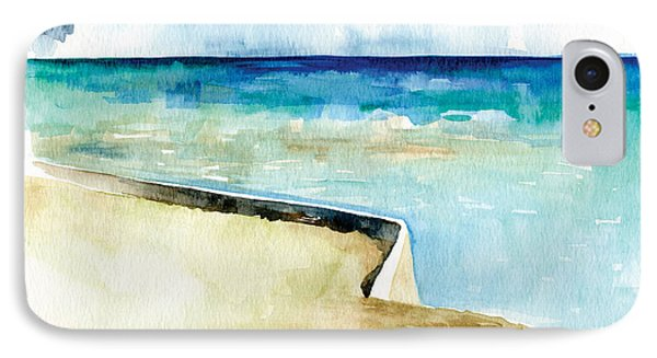 Ocean Pier In Key West Florida IPhone Case by Catherine Twomey