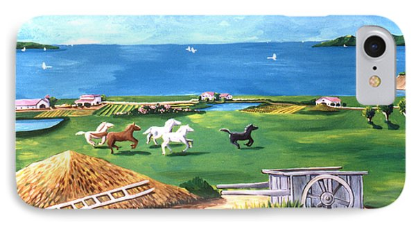 Ocean Ranch IPhone Case by Lance Headlee
