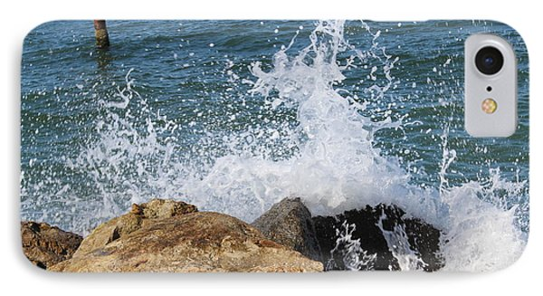 IPhone Case featuring the photograph Ocean Spray by John Mathews