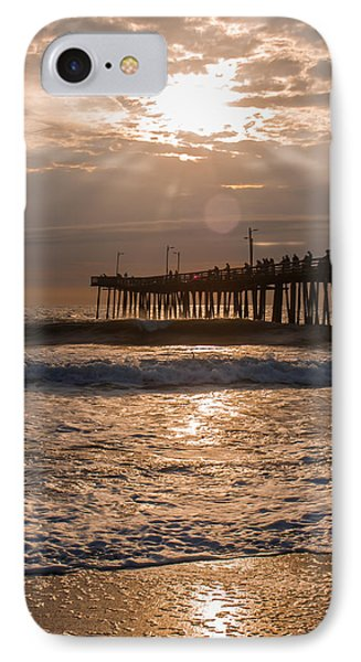 IPhone Case featuring the photograph Ocean Sunrise  by Dawn Romine