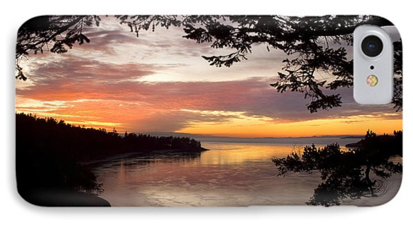Ocean Sunset Deception Pass IPhone 7 Case