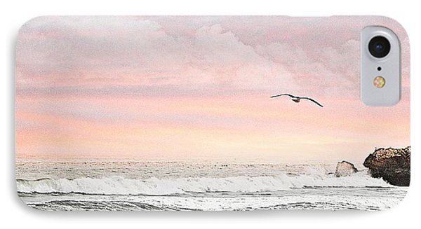 IPhone Case featuring the photograph Ocean Sunset by Kathy Churchman