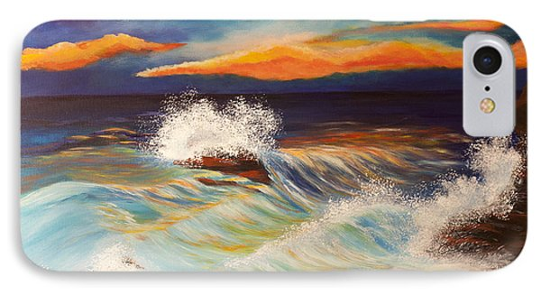 Ocean Sunset IPhone Case by Michelle Joseph-Long