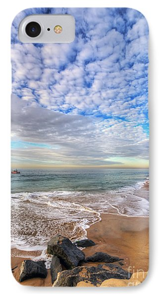 Ocean Touches The Sky Phone Case by Eddie Yerkish