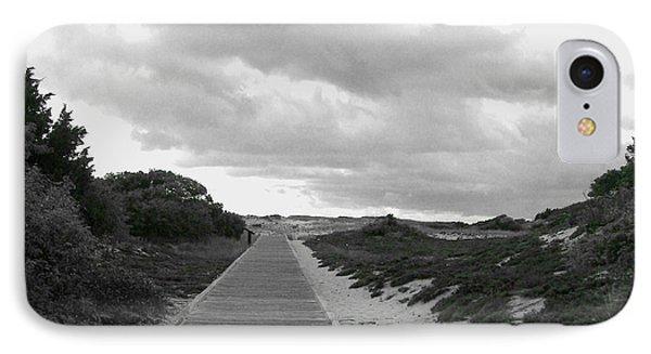 IPhone Case featuring the photograph Ocean Walk Island Beach State Park New Jersey by Pamela Hyde Wilson