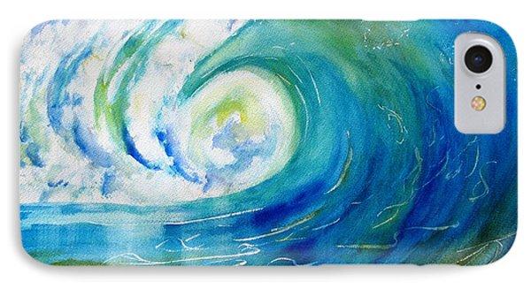 Ocean Wave IPhone Case by Carlin Blahnik