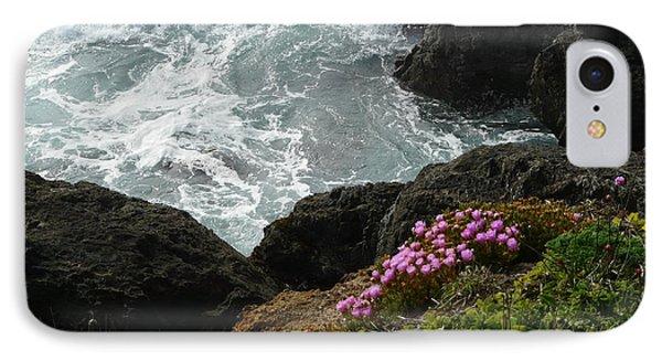 Ocean Wildflowers-2 Phone Case by Avis  Noelle
