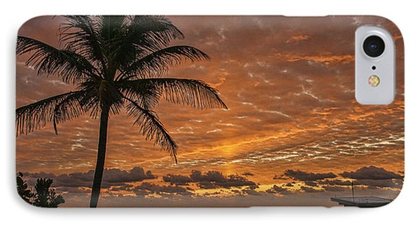 Oceanfront Park Sunrise 2 IPhone Case by Don Durfee