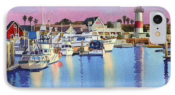 Oceanside Harbor At Dusk IPhone Case