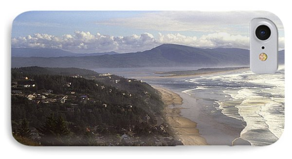 Oceanside Oregon Phone Case by Keith Gondron