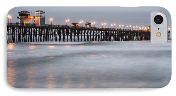 IPhone Case featuring the photograph Oceanside Pier 1 by Lee Kirchhevel