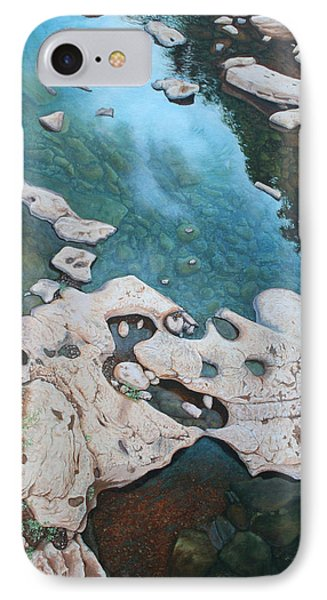 Ocoee River Low Tide IPhone Case by Mike Ivey
