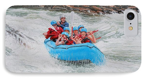 Ocoee River Rafting IPhone Case by Mike Ivey