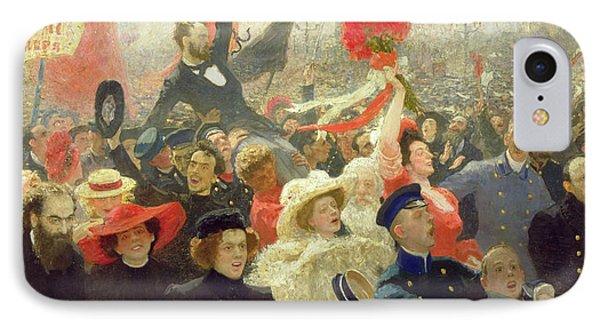 October 17th 1905 Phone Case by Ilya Efimovich Repin