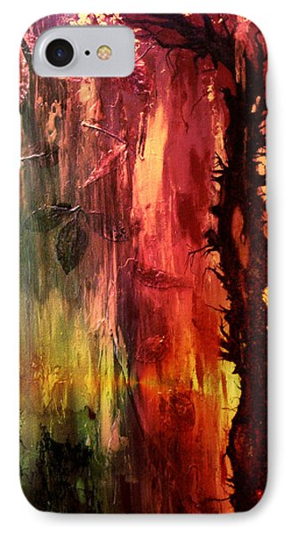 October Abstract IPhone Case by Patricia Motley