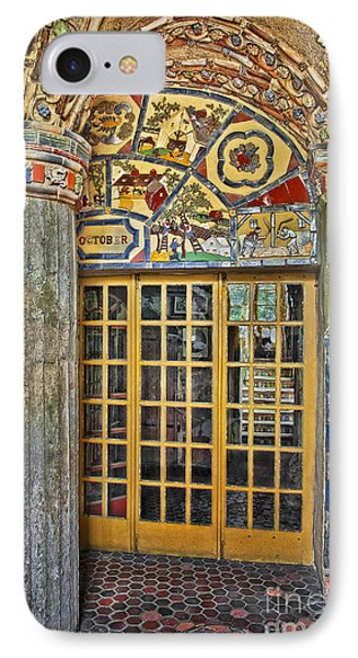 October At Fonthill Castle Phone Case by Susan Candelario