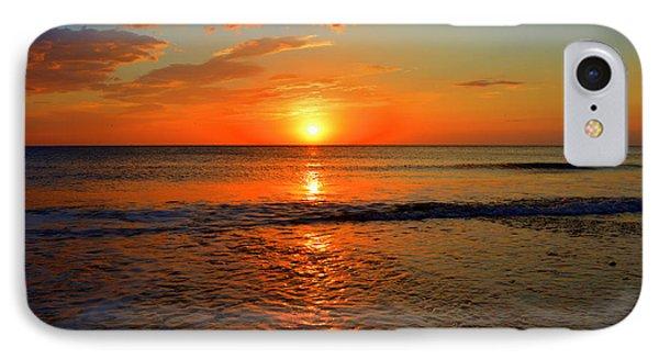 October Beach IPhone Case by Dianne Cowen