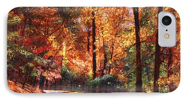 October Colors Phone Case by David Lloyd Glover