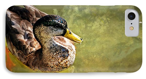 October Duck Phone Case by Marty Koch