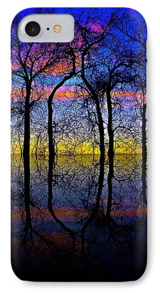October Dusk  Phone Case by Chris Berry