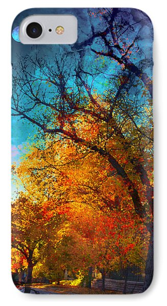 October IPhone Case by Kat Besthorn