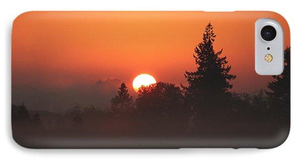 October Orange IPhone Case