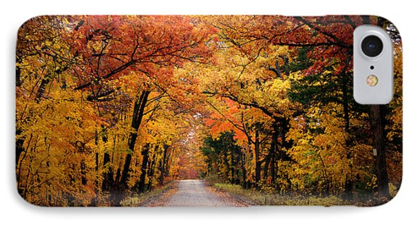 October Road IPhone Case by Cricket Hackmann