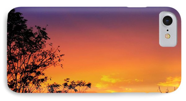 IPhone Case featuring the photograph October Sky by Candice Trimble