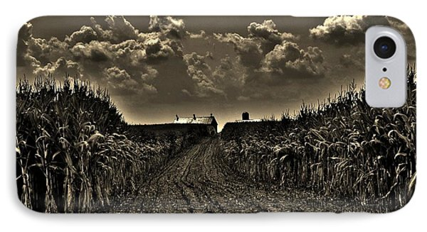 October Sky IPhone Case by Robert Geary