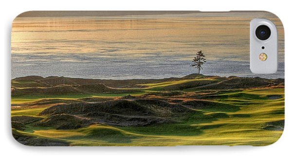 IPhone Case featuring the photograph October Solitude - Chambers Bay Golf Course by Chris Anderson