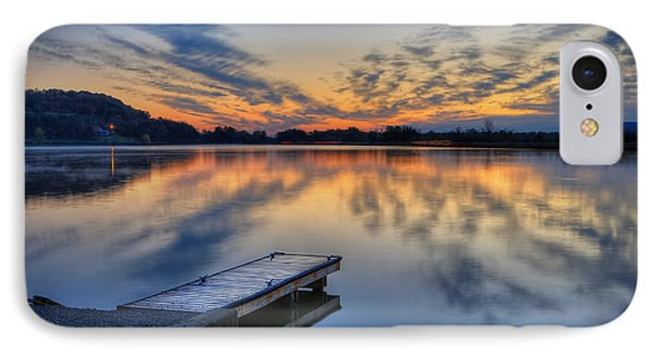 October Sunrise At Lake White IPhone Case by Jaki Miller