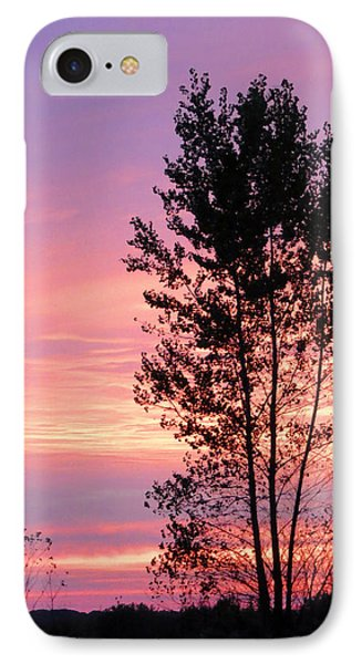 October Sunset IPhone Case by Patricia Januszkiewicz