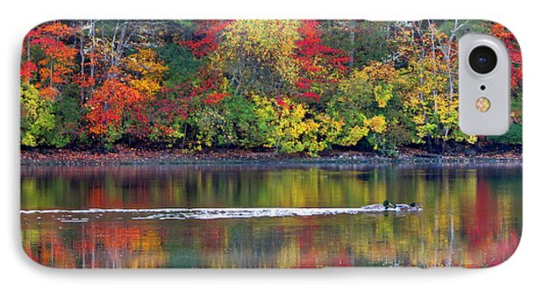 October's Colors IPhone Case by Dianne Cowen