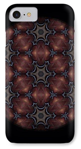 Octopus Mandala Phone Case by Karen Buford