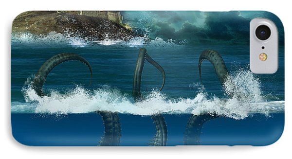 Octopus Sea IPhone Case