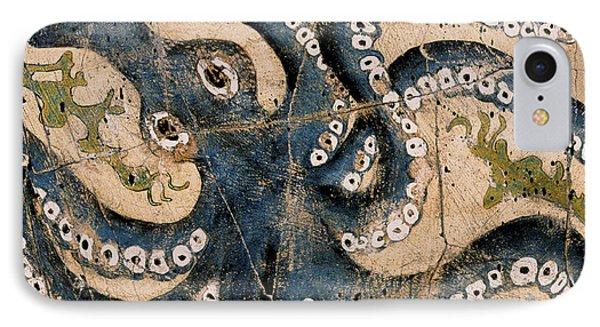 Octopus - Study No. 1 IPhone Case