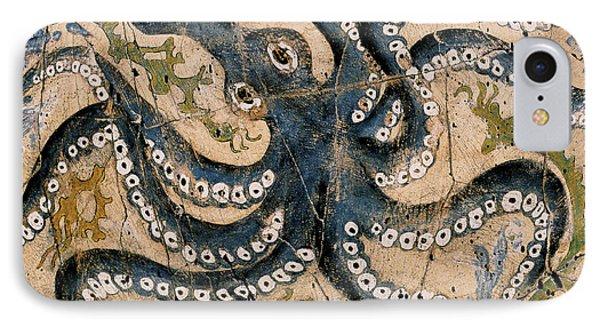 Octopus - Study No. 2 IPhone Case