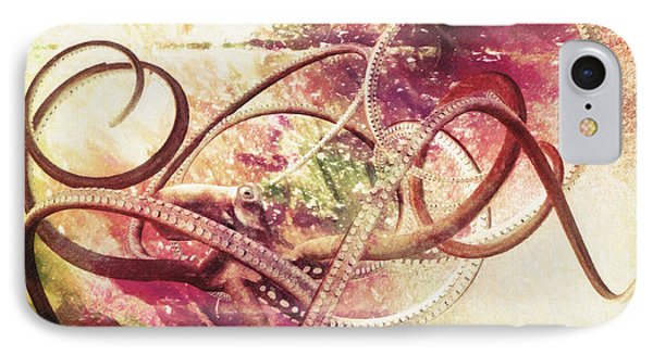 Octopus IPhone Case by Taylan Apukovska