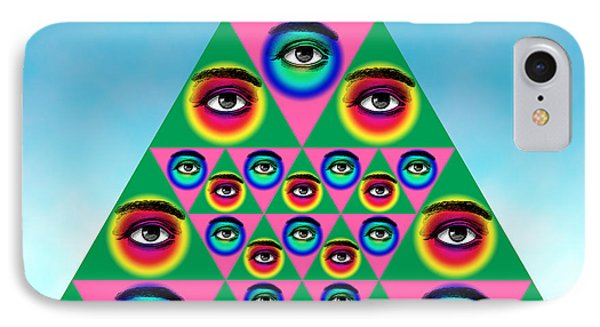Oculi Omnium Phone Case by Eric Edelman