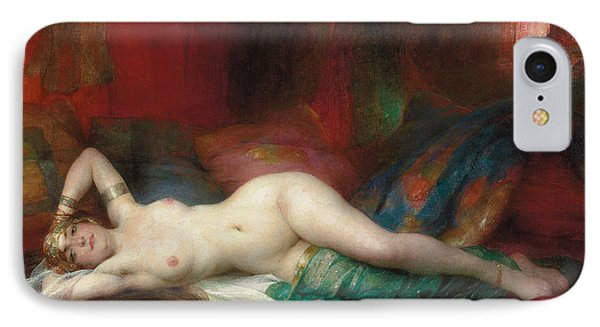Odalisque IPhone Case by Henri Adrien Tanoux