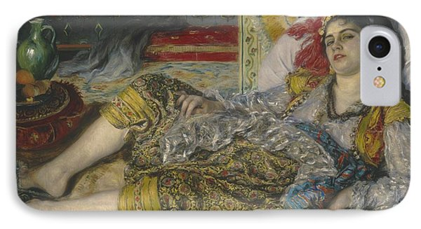Odalisque IPhone Case by Pierre Auguste Renoir