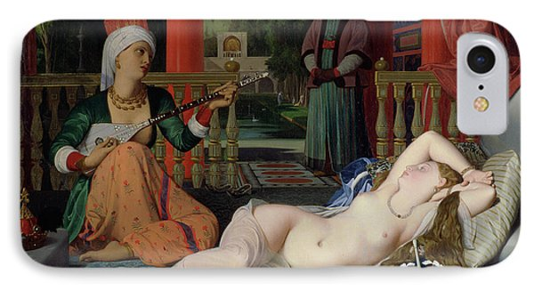 Odalisque With Slave IPhone Case