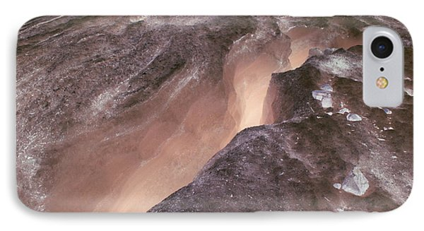 Ode To Crevasses 2 IPhone Case by Amanda Holmes Tzafrir