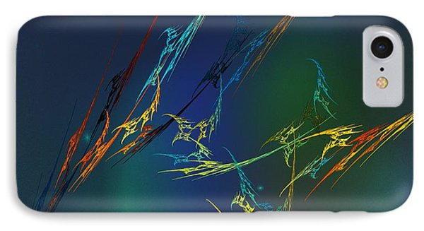 IPhone Case featuring the digital art Ode To Joy by David Lane