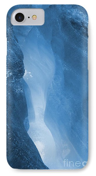 Ode To The Crevasse 5 IPhone Case by Amanda Holmes Tzafrir