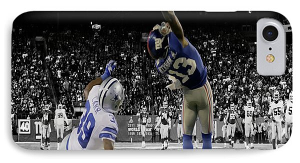 Odell Beckham Greatest Catch Ever IPhone Case by Brian Reaves