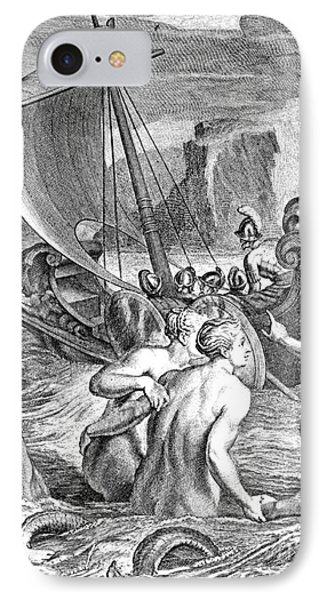 Odysseus Escapes Charms Of The Sirens IPhone Case