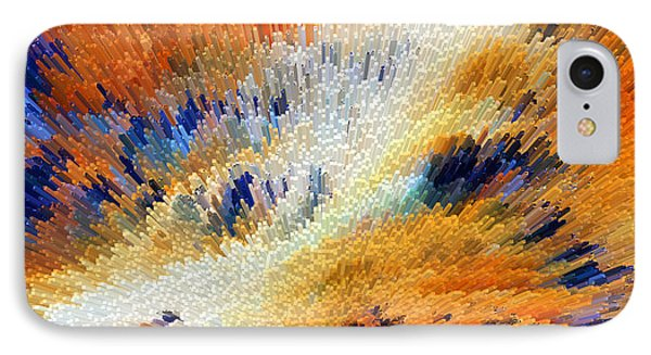 Odyssey - Abstract Art By Sharon Cummings IPhone Case